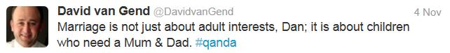 Q&A dan not just adult interests